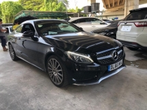 2017 MERCEDES-BENZ C-CLASS C300 AMG COUPE ACTUAL YEAR MAKE 2017 NO HIDDEN CHARGES