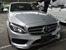 2014 MERCEDES-BENZ C-CLASS C200 AMG JAPAN UNREG