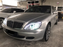 2005 MERCEDES-BENZ S-CLASS S280 2.8 FULL SPEC - NEW ABSORBER - LED LAMP - LEATHER SEAT - ELECTRIC MEMORY SEAT - KUALITI TERBAIK - DEAL SAMPAI JADI