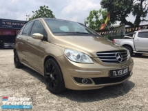 2008 MERCEDES-BENZ B-CLASS 2008 Mercedes Benz B170 1.7(A) 1 Owner Tip-Top Condition