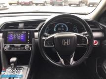 2017 HONDA CIVIC 1.8S  I-VTEC LIKE NEW - UNDER WARRANTY - FULL SERVICE - MILEAGE 39K ONLY, ALL ORIGINAL PART, OFFER MEGA SALE, DEAL SAMPAI JADI