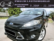 2010 FORD FIESTA 1.6L SPORT (A)F-LOAN / 1OWNER / LOW MILEAGE / LOW INTEREST RATE / CLEAR STOCK