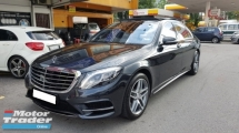 2017 MERCEDES-BENZ S-CLASS S400L HYBRID AMG LINE (A) REG APRIL 2018, ONE CAREFUL OWNER, FULL SERVICE RECORD, LOW MILEAGE DONE 10K KM, UNDER WARRANTY UNTIL APRIL 2022