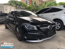 2014 MERCEDES-BENZ CLA Unreg Mercedes Benz AMG CLA45 2.0 4MATIC Turbo Camera Paddle Shift 7G