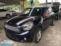 2014 MINI Countryman Unreg Mini Cooper Countyman Crossover 1.6 Exron Light  Push Start Engine Leather Seats