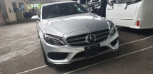 2015 MERCEDES-BENZ C-CLASS C200 AMG JAPAN SPEC SST INCLUSIVE