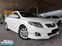 2009 TOYOTA ALTIS 1.8 (A) E SPEC TRD BODYKIT GOOD CONDITION PROMOTION PRICE.
