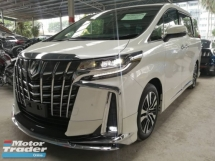 2018 TOYOTA ALPHARD 2.5 SC (FULL LOADED) UNREG