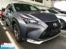 2015 LEXUS NX 200t F Sport Unregister 1 YEAR WARRANTY
