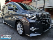 2015 TOYOTA ALPHARD 2.5 S Roof Monitor 7S 2PDR Unreg Sale Offer