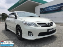 2013 TOYOTA ALTIS 1.8 G MODEL FACELIFT TRD BODYKIT REVERSE CAMERA TIPTOP