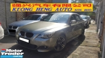 2007 BMW 5 SERIES 525I 2.5cc M-SPORTS (A) REG 2006, CAREFUL OWNER, LOCAL MODEL, 100% ACCIDENT FREE, MILEAGE DONE 101K KM, 18