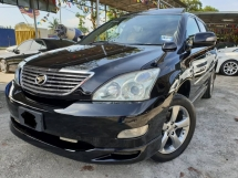 2005 TOYOTA HARRIER 240G PREMIUM L PACKAGE PANOMARIC ROOF POWER BOOT LEATHER SEAT