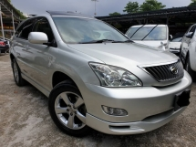 2007 TOYOTA HARRIER 240G PREMIUM L PACKAGE PANOMARIC ROOF 2008 2009
