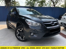 2015 SUBARU XV 2.0iP PREMIUM FULL SPEC FULL LEATHER SEAT GPS NAVIGATION DOUBLE DIN PLAYER PADDLE SHIFTER