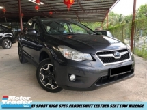 2015 SUBARU XV 2.0(A) SPORT PADDELSHIFT LEATHER SEAT LOW MILEAGE SHOWROOM CONDITION