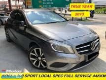2013 MERCEDES-BENZ A-CLASS A200 TURBO ONE  OWMER FULL SERVICE RECORD 44KM SUPER LOW MILEAGE LOCAL SPEC