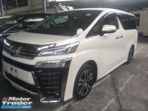 2018 TOYOTA VELLFIRE 2.5 ZG FULL LEATHER PILOT SEATS 360 SURROUND CAMERA 3 LED HEADLAMPS FREE WARRANTY