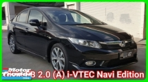 2013 HONDA CIVIC FB Navi 2.0 (A) i-VTEC Modulo Full Service By Honda Never Miss Time Never Accident Worth Buy