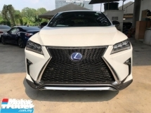 2017 LEXUS RX 200 T F SPORT UNREGISTER FULLSPEC.TRUE YEAR MADE CAN PROVE.SPORT PADDLE SHIFT.POWER BOOT.MEMORY SEAT.LEATHER.PRE CRASH.SIDE N REAR CAM.LED LIGHT N ETC.FREE WARRANTY N MANYU GIFTS