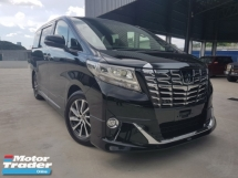 2016 TOYOTA ALPHARD 2016 Toyota Alphard 3.5 Executive Lounge JBL Home Theatre Sound System 4 Camera Full leather Modelista Bodykit Unregister for sale