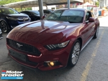 2016 FORD MUSTANG Unreg Ford Mustang GT 2.3 Turbo ECOBOOST Turbocharged Camera Push Start Paddle Shift
