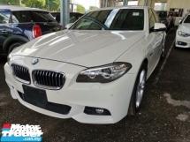 2014 BMW 5 SERIES 520i M Sport 2.0 Unregister 1 YEAR WARRANTY