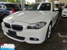 2014 BMW 5 SERIES 520i M Sport 2.0 Unregister 1 YEAR WARRANTY