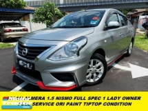 2017 NISSAN ALMERA NISMO FULL SPEC 1 LADY OWNER ORI PAINT TIPTOP CONDITION VL SPEC