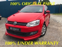 2014 VOLKSWAGEN POLO 1.6 SPORT LINE TRUE YEAR MADE 2014 UNDER WARRANTY
