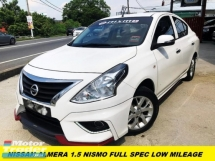 2018 NISSAN ALMERA 1.5 NISMO FACELIFT LED LIGHT BUMPER DEMO CAR UNIT ONE HOUSEWIFE OWNER
