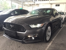 2017 FORD MUSTANG 2.3 ECOBOOST UNREGISTER.TRUE YEAR MADE CAN PROVE.HI SPEC.PADDLE SHIFT.REVERSE CAM.BIG SCREEN PLAYER.i PLAY.ELECTRIC SEAT WITH ORI BROWN LEATHER.SPORT COMFORT STEERING N ETC.FREE MANY GIFTS