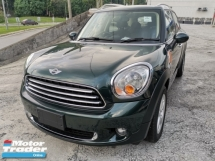 2014 MINI Countryman 1.6 Auto Unregister 1 YEAR WARRANTY