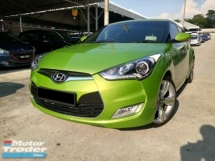 2014 HYUNDAI VELOSTER 1.6 (A) FULL SERVICE HYUNDAI   GOOD CONDITION  ACC FREE