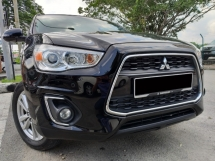2015 MITSUBISHI ASX 2.0L 4WD (A) NEW FACELIFT 1 OWNER/ LOW MILEAGE/FULL SERVICE RECORD/ F-LOAN