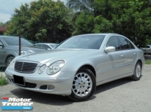 2004 MERCEDES-BENZ E-CLASS  E240 2.6 V6 ReverseCamera TipTOP Condition LikeNEW Reg.2008