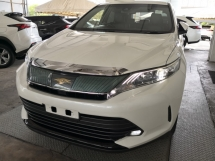 2017 TOYOTA HARRIER 2.0 FACELIFT UNREG