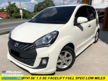 2017 PERODUA MYVI 1.5 SE (A) FULL SPEC FACELIFT LOW MILES 1 OWNER ORI PAINT