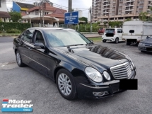 2008 MERCEDES-BENZ E-CLASS E200K 1.8 A CKD MODEL VIP OWNER