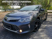 2015 TOYOTA CAMRY HYBRID LEATHER PACKAGE