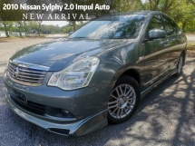 2012 NISSAN SYLPHY 2.0L X-CVT LUXURY NAVI RAYA Free Warranty 2 Years