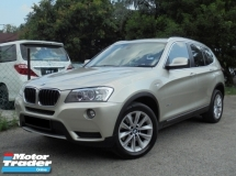 2013 BMW X3 2.0 xDrive20i F25 TwinPower Turbo NAVI Facelift LikeNEW