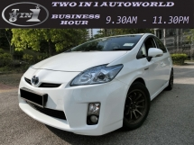 2012 TOYOTA PRIUS  LUXURY HYBRID(A)F-LOAN / LOW MILEAGE / 1 OWNER / LIKE NEW