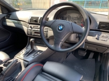 2005 BMW 3 SERIES 318I SUNROOF SPORT-LINE LEATHER MATTE BLACK