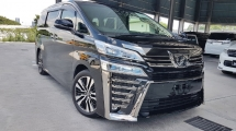 2018 TOYOTA VELLFIRE 2018 Toyota Vellfire 2.5ZG Facelift Sun Roof Digital Inner Mirror Pre Crash LTA Full Leather Unregister for sale