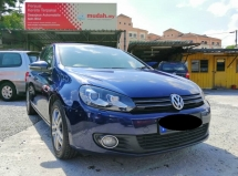 2011 VOLKSWAGEN GOLF 1.4 (A) True Year Made
