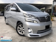 2011 TOYOTA VELLFIRE 3.5V L EDITION FULL SPEC - REG 2016 - FACELIFT - POWER BOOT - PILOT SEAT - LEATHER - SUNROOF - BODYKIT - ELECTRIC MEMORY SEAT