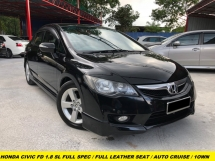 2012 HONDA CIVIC 1.8S-L FULL SPEC FULL ORIGINAL LEATHER SEAT AUTO CRUISE AUTO WIPERS
