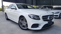2018 MERCEDES-BENZ E-CLASS 2018 Mercedes E250 AMG W213 Burmester Sound System 4 Camera 360 View Power Boot head Up Display Full Leather Japan Spec Unregister for sale