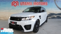 2017 LAND ROVER RANGE ROVER SPORT 5.0 V8 SVR SUPERCHARGED PANORAMIC ROOF SPORT EXHAUST SYSTEM DISCOUNT UP TO 70K MERDEKA SALE